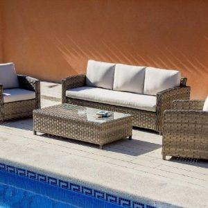 Conjunto terraza 150