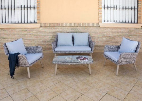 Conjunto terraza 250